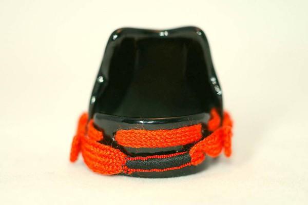 Samurai armor ring black