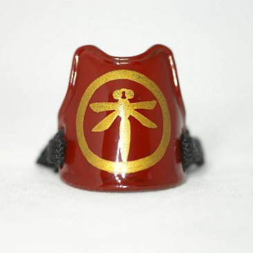 "009 SAMURAI RING ""DOU"" red"