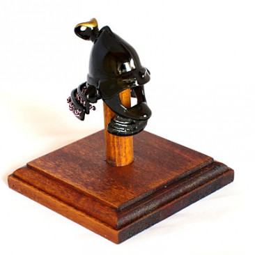 "017 Samurai Helmet Choker ""MOMO"""